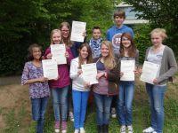 Preisträger beim Wettbewerb 'Begegnung mit Osteuropa'