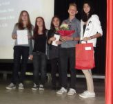 Die Sieger beim Lateinwettbewerb